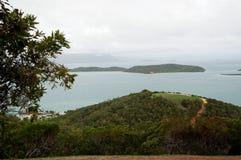 Vista di Noumea, Nuova Caledonia Fotografia Stock Libera da Diritti