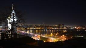 Vista di Novi Sad Fotografia Stock Libera da Diritti