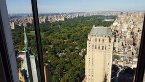 Vista di NYC dall'edificio di General Motors Immagine Stock Libera da Diritti