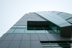 Vista di occhiata di una costruzione Fotografie Stock