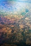 Vista di occhio dell'uccello di Midwest Stati Uniti Fotografia Stock