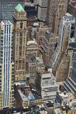 Vista di occhio dell'uccello di New York Immagine Stock Libera da Diritti
