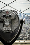 Vista di occhio di uccelli di Manhattan Immagini Stock