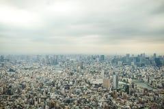 Vista di occhio di uccello di Tokyo Immagini Stock Libere da Diritti