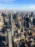 Vista di occhio di uccello di New York, Manhattan, U.S.A. Immagine Stock Libera da Diritti