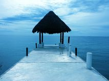 Vista di oceano immagine stock
