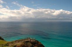 Vista di oceano Immagini Stock Libere da Diritti
