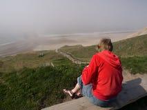 Vista di oceano Fotografia Stock