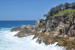 Vista di oceano all'isola del nord di Stradbroke fotografia stock