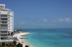 Vista di oceano caraibica Immagini Stock