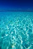 Vista di oceano dell'isola di paradiso Fotografie Stock Libere da Diritti