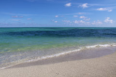 Vista di oceano di Miami Florida Fotografie Stock
