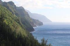 Vista di oceano e della scogliera Fotografia Stock Libera da Diritti