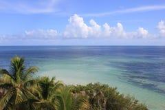 Vista di oceano in Florida Fotografia Stock