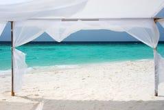 Vista di oceano, Maldives Immagini Stock Libere da Diritti