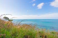 Vista di oceano di panorama a Koh Lanta Krabi Thailand Immagini Stock Libere da Diritti