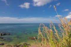 Vista di oceano di panorama a Koh Lanta Krabi Thailand Immagine Stock