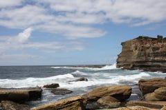Vista di oceano in Terrigal Fotografie Stock
