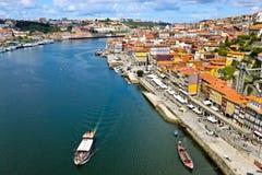 Vista di Oporto fotografia stock libera da diritti