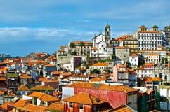 Vista di Oporto. Fotografia Stock Libera da Diritti