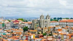 Vista di Oporto Immagini Stock