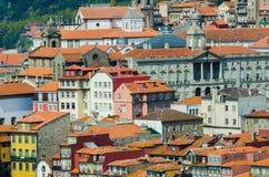 Vista di Oporto nel Portogallo Fotografia Stock Libera da Diritti