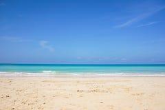 Vista di orizzonte dei Caraibi Fotografie Stock