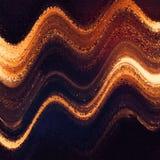 Vista di orizzonte Struttura tinta multicolore ondulata Priorità bassa di fantasia Le nuvole di colore spargono Superficie lumino royalty illustrazione gratis
