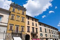 Vista di Orvieto. L'Umbria. L'Italia. Fotografie Stock Libere da Diritti