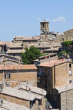 Vista di Orvieto. L'Umbria. L'Italia. Immagini Stock Libere da Diritti