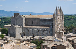 Vista di Orvieto. L'Umbria. L'Italia. Fotografie Stock