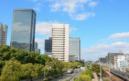 vista di Osaka del centro Immagini Stock