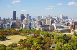 vista di Osaka del centro Fotografia Stock