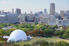 vista di Osaka del centro immagini stock libere da diritti