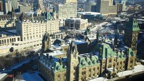 Vista di Ottawa Immagine Stock
