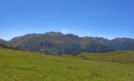 Vista di paesaggio della Nuova Zelanda Immagini Stock