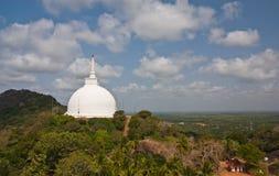 Vista di paesaggio di Mahaseya Dagoba Fotografia Stock Libera da Diritti