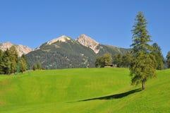 Vista di paesaggio di Seefeld Tirol Immagine Stock