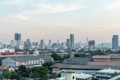 Vista di paesaggio urbano immagini stock libere da diritti