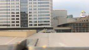 Vista di paesaggio urbano a Bangkok, Tailandia stock footage