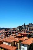 Vista di panorama dalla città di Oporto Fotografia Stock Libera da Diritti