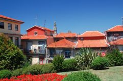 Vista di panorama dalla città di Oporto immagine stock libera da diritti