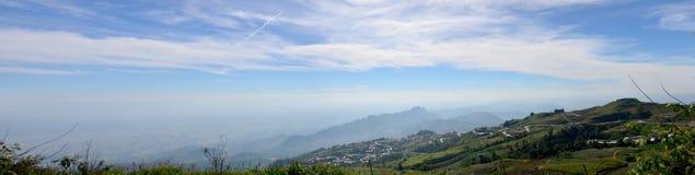 Vista di panorama della montagna di Phu Thap Boek Immagine Stock Libera da Diritti