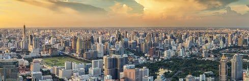 Vista di panorama di Bangkok Fotografie Stock