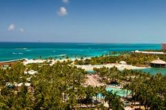 vista di paradiso dell'isola della spiaggia Fotografia Stock