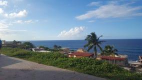 Vista di paradiso dell'oceano Fotografia Stock