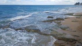 Vista di paradiso dell'oceano Immagini Stock Libere da Diritti