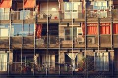 Vista di Parallell di Barcellona Fotografie Stock Libere da Diritti