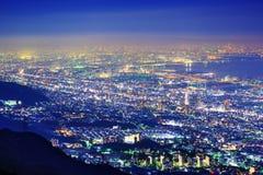 Orizzonte di Kansai Fotografia Stock