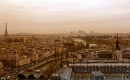 Vista di Parigi Immagine Stock